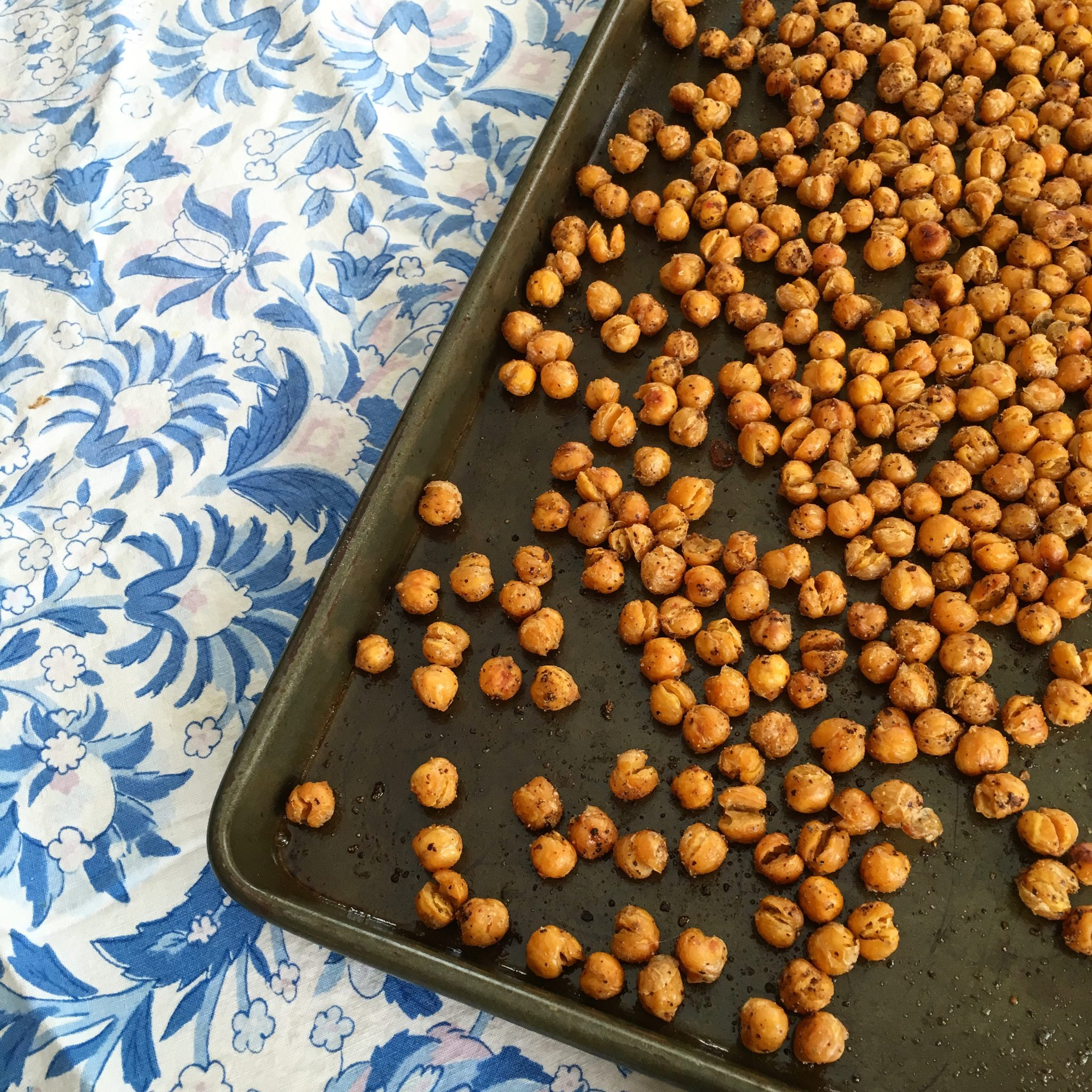 insta roasted chickpeas