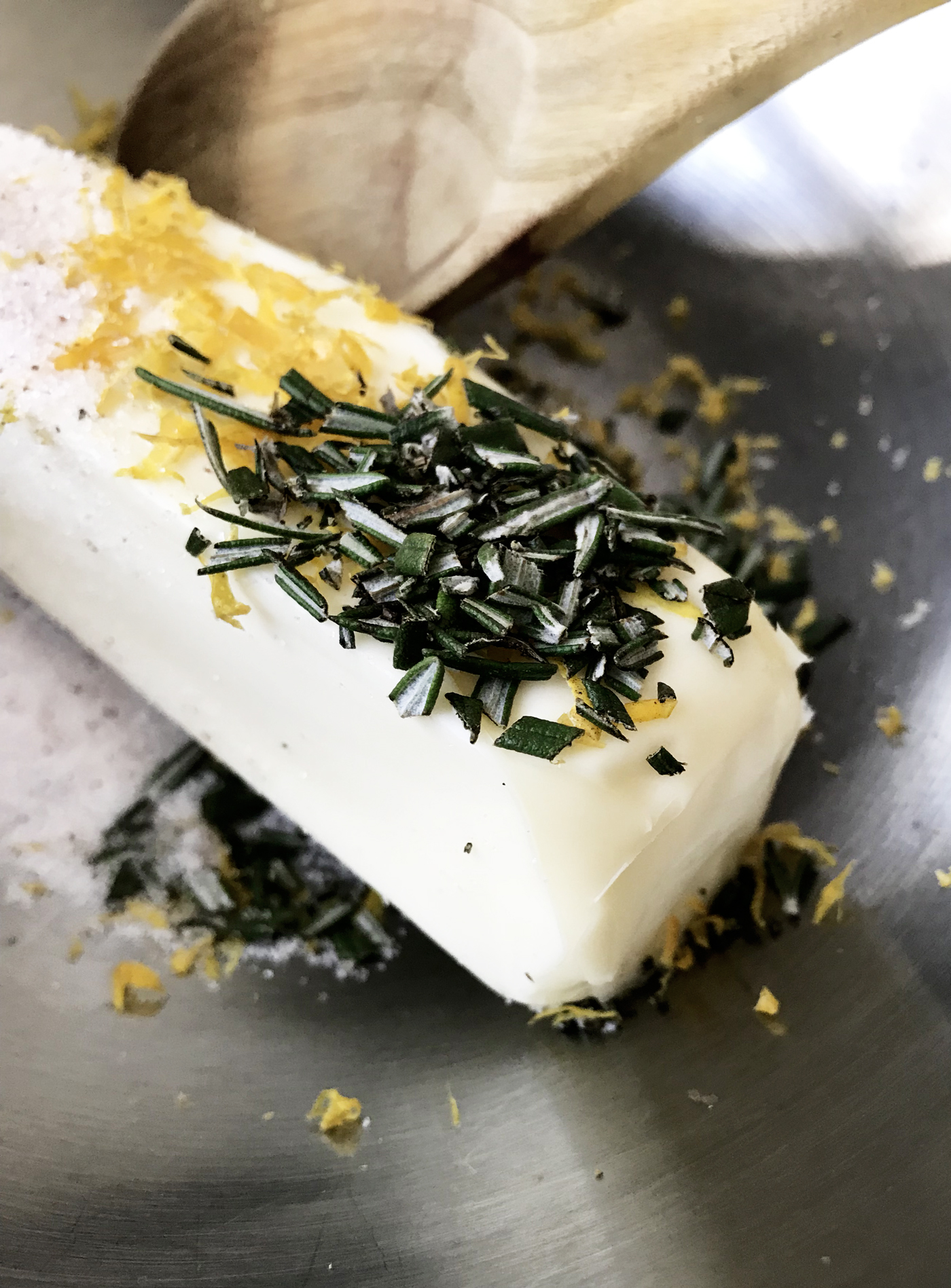 Rosemary Orange Compound Butter